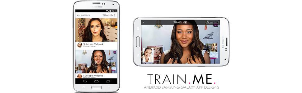 webrtc train me app